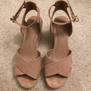 H&M wedge heels